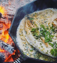 Fish Over the Fire