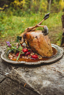 Gourmet Grouse in the Woods