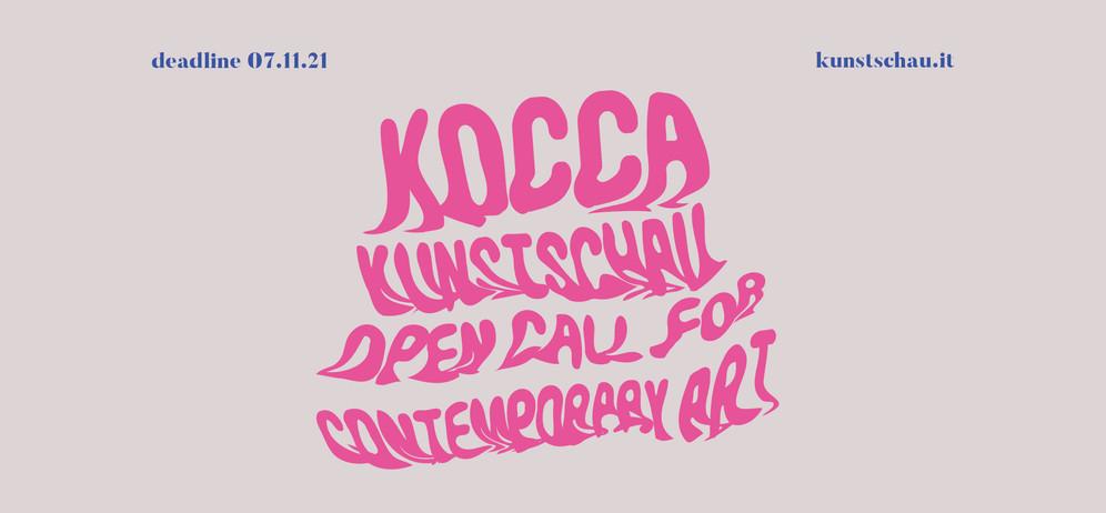 ✨KOCCA✨ Kunstschau Open Call for Contemporary Art