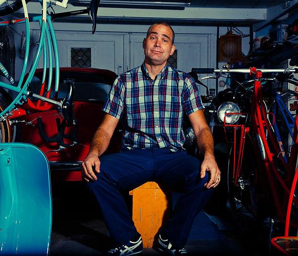 Custom Steel bike frame builder Curtis Inglis
