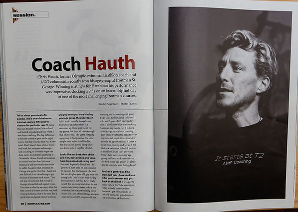 Coach Chris Hauth  - 3 GO Magazine Editorial