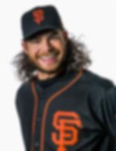 Brandon Crawford of the San Francisco Giants wearing Majestic Athletic / Fanatics gear.