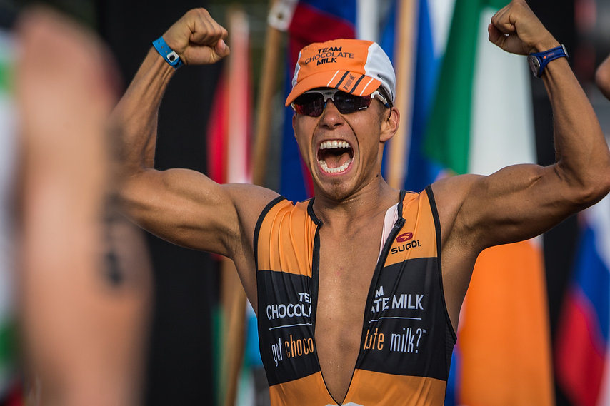 Finishing the Race - Olympic ledgend Apolo Ono and Chocolate Milk take on Ironman World Championships in Kona, HI