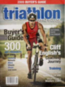 Triathlon Magazine Canada - Cover