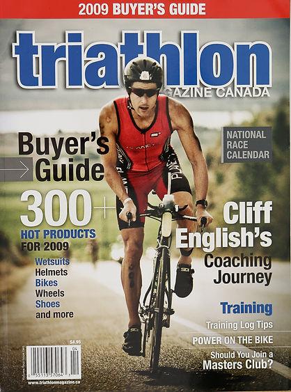 Triathlon Magazine Canada - Cover