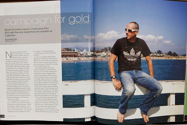 Beven Docherty - 3 GO Magazine Editorial