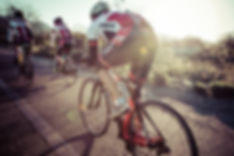 Sunrise bike ride with Timex athletes