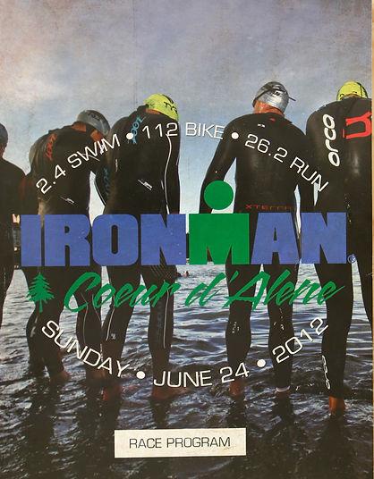 IRONMAN Coeur d' Alene Program cover