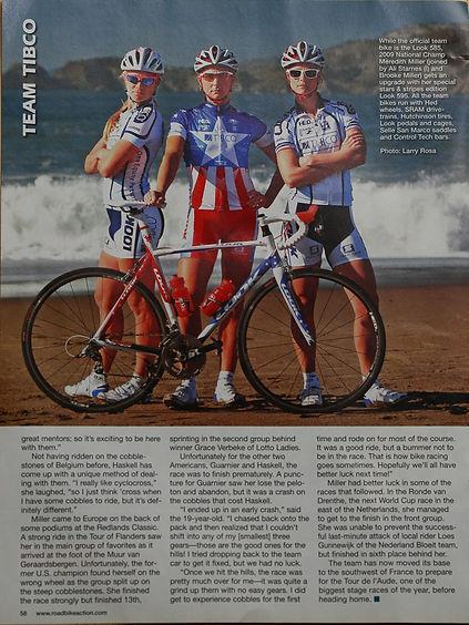 TIBCO - Road Bike Magazine