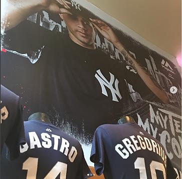 Gary Sanchez Yankee Stadium Team Store