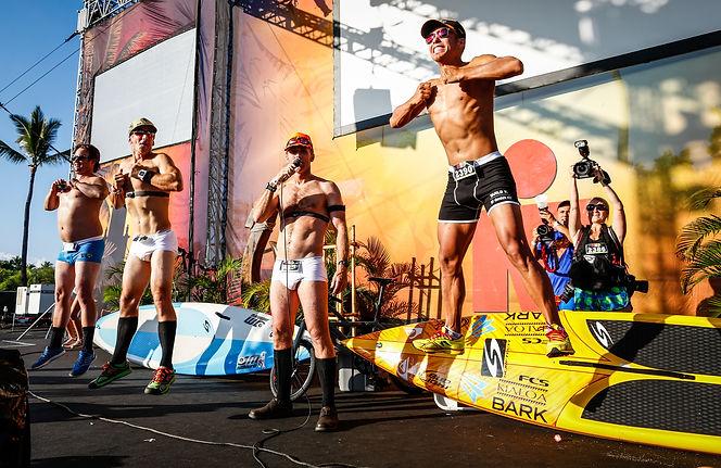 Pre Race - Olympic ledgend Apolo Ono and Chocolate Milk take on Ironman World Championships in Kona, HI