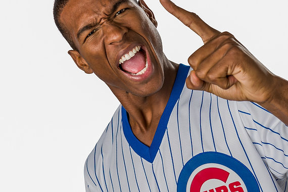 Chicago Cubs fans love Majestic Athletic gear and the Cubs.