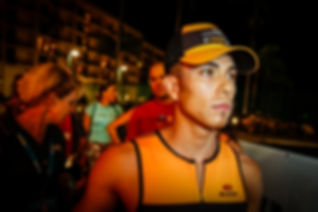 Race Morning - Olympic ledgend Apolo Ono and Chocolate Milk take on Ironman World Championships in Kona, HI
