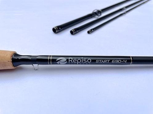 Vara Start Repiso Fly Rods #6 - 9 pés