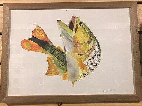 Quadro - Dourado - Artista: Camila Crósta