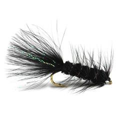 Mosca Wolly Bugger - Black - 08