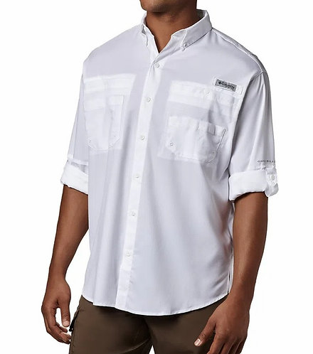 Camisa Tamiami II Columbia logo SFF Tam. G - Cor Branca