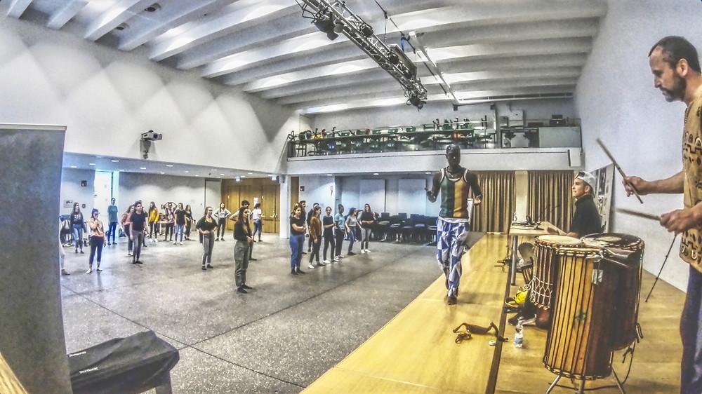Tanzen aus Westafrika, Bozen