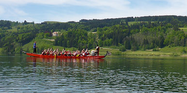 Heubethof Allgäu Drachenboot