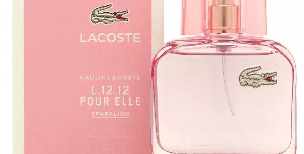 Lacoste L.12.12 Pour Elle Sparkling EDT Spray