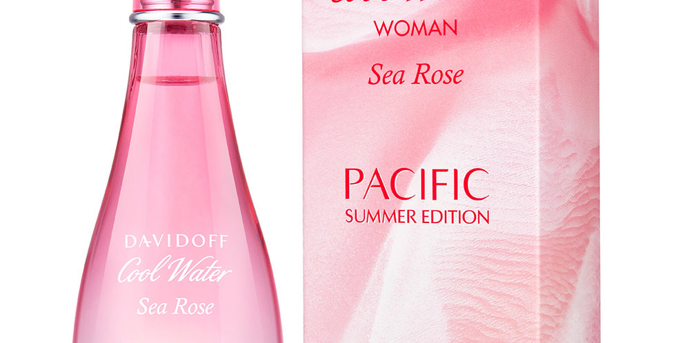 Davidoff Cool Water Woman Sea Rose Pacific Summer Edition EDT Spray