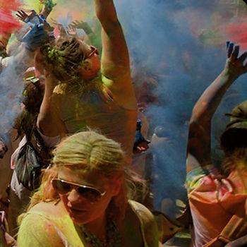 Powder Paint Dance Party