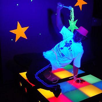 Light-Up Dance Platforms
