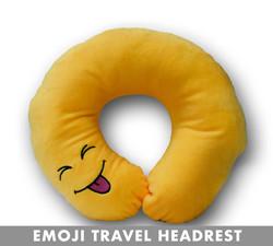 TONGUE EMOJI HEADREST