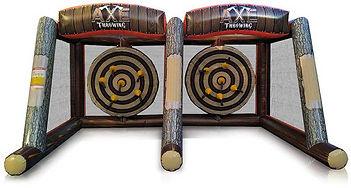 Axe Throwing Double