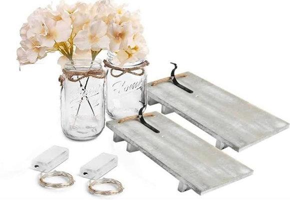 Hanging Mason Jar Kits [Minimum Order 50]
