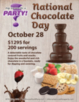 National Chocolate Day Special