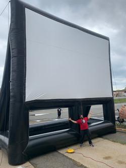 32' Movie Screen