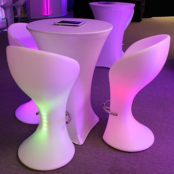 Light-Up Chairs
