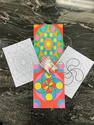 Sand Coloring Page Kits [Minimum Order 50]