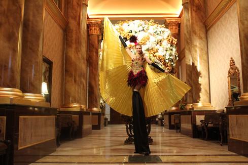 Stilt Dancer