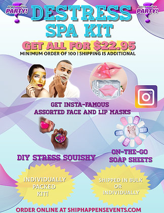 DeStress Spa Kit [Minimum Order 100]