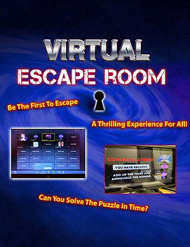 Escape Rooms - Live or Virtual