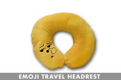 TEARDROP EMOJI HEADREST