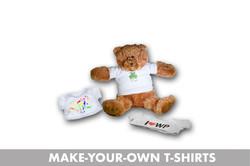 MAKE YOUR OWN TEDDY TSHIRT
