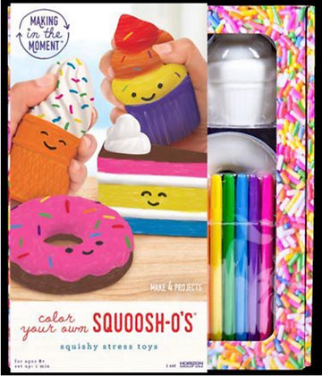 Color Your Own Squishies DIY Kits [Minimum Order 48]