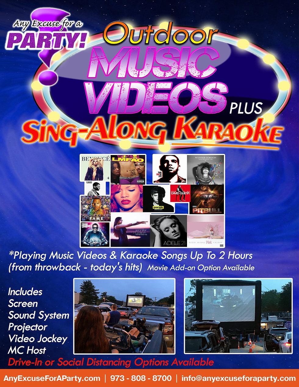 Outdoor Music Videos Plus Karaoke wo pri
