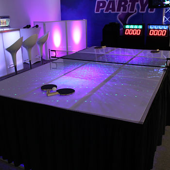 Light-Up Ping Pong Table