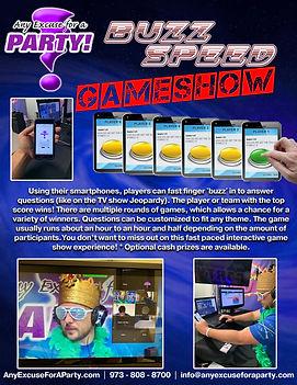 Buzz Speed Game Show