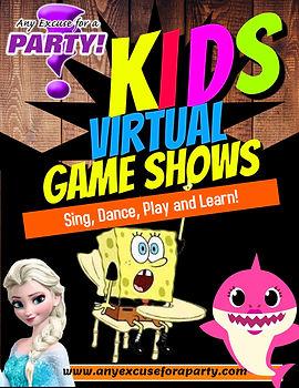 Kids Game Show - Virtual