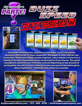 Buzz Speed Game Show