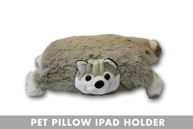 WOLF PET PILLOW