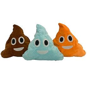 Stuff-A-Poop Emoji Pillow [Minimum Order 50]