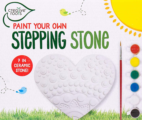 Stepping Stone Heart Paint Your Own Kit [Minimum Order 48]