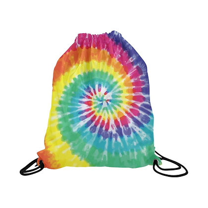 Tie Dye String Backpack [Minimum Order 50]