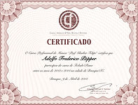 Certificado de Curso Glauber Felipe